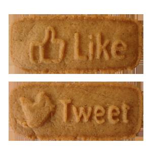 Like&Tweet verpakt